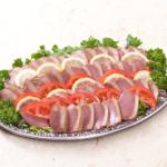 季節野菜と合鴨ロースの和風サラダ